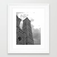 florence Framed Art Prints featuring Florence by Scumbagsam