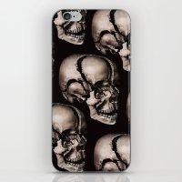broken iPhone & iPod Skins featuring BROKEN by DIVIDUS