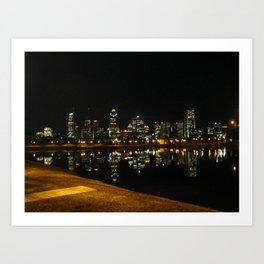 Montreal before the condos Art Print