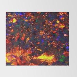 fire opal Throw Blanket