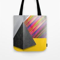 pyramid Tote Bags featuring Pyramid by ohzemesmo