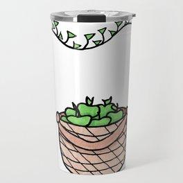 Snake and Apples Travel Mug