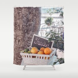 Frappe Shower Curtain