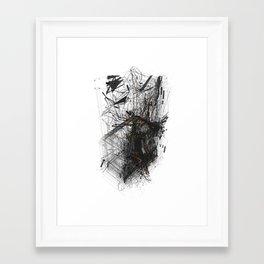 Unwelcome Gaze – Amazon 1 Framed Art Print