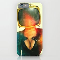 SEX ON TV - GOLDEN PUSSYCAT by ZZGLAM iPhone 6 Slim Case