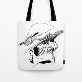 Skull (Liquify) Tote Bag