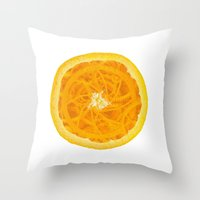 martell Throw Pillows featuring A Clockwork Orange by Sophie Martell