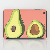 musa iPad Cases featuring do u like avocados by musa