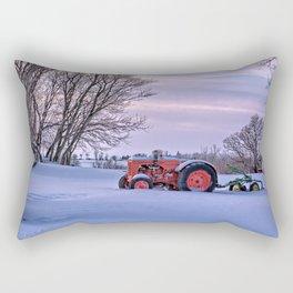Case and Plow Rectangular Pillow