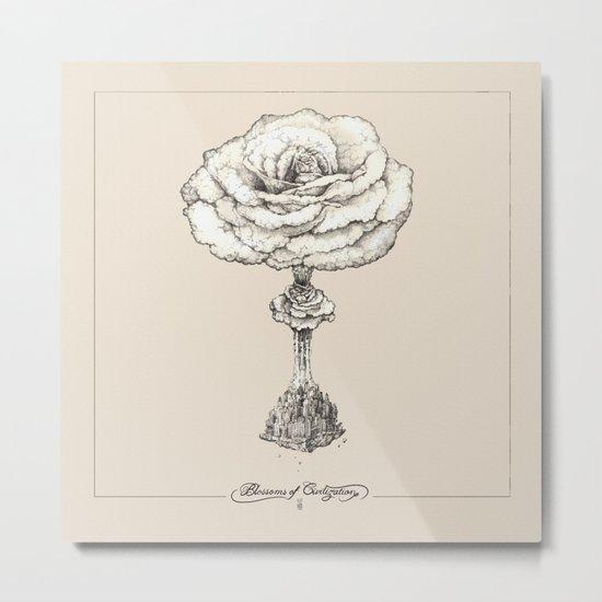 Blossoms of Civilizations Metal Print