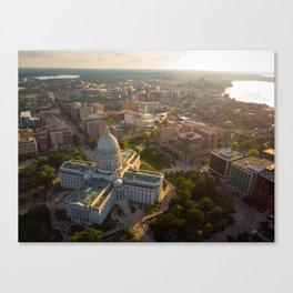 Sundown Wisconsin Canvas Print