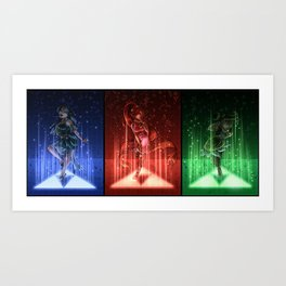 Oracles Art Print