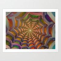 stargate Art Prints featuring Stargate by Klara Acel