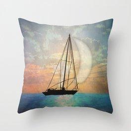 Sail Away With Me Throw Pillow
