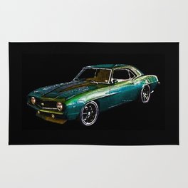 1969 Camaro By Annie Zeno Rug