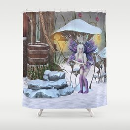 Cold Day Shower Curtain