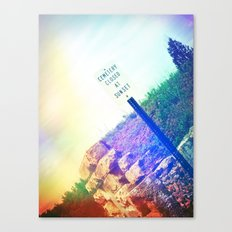 Closed at Sunset Canvas Print