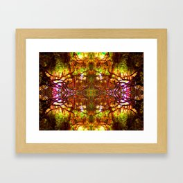 Tree of Life Abstract Framed Art Print