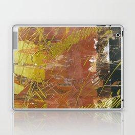 Shades of Gold by Australian Artist Vidy Potdar Laptop & iPad Skin