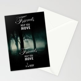 Friends Help You Move Stationery Cards