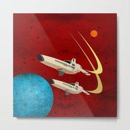 Galactica Metal Print