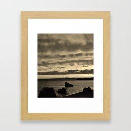 Algarve Sunset Framed Art Print