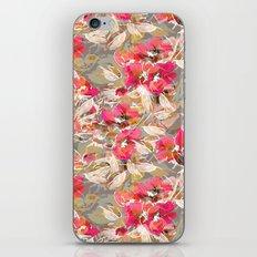 Roses in retro iPhone & iPod Skin