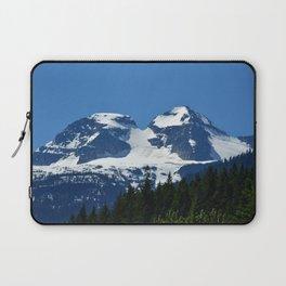 Twin Summits - Glacier Natnl Park Mountains, BC, Canada Laptop Sleeve
