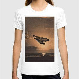 Tornado at Sunset (Digital Painting) T-shirt