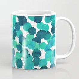Gracie Spot Aqua Coffee Mug