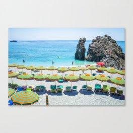 Under Umbrella Canvas Print