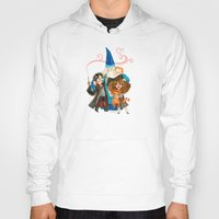 harry potter Hoodies featuring Harry Potter Hug by Super Group Hugs