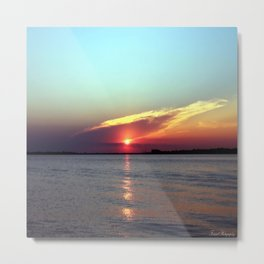 Gods Creation  Metal Print
