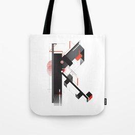 Abstract K Tote Bag
