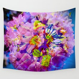 flowers magic Wall Tapestry