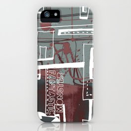 Frost dream iPhone Case