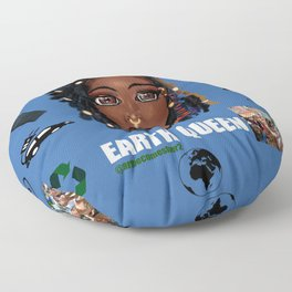 Earth Queen Floor Pillow