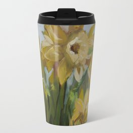 Clouds of Daffodils Travel Mug