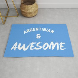 Argentina & Awesome Rugby Rug