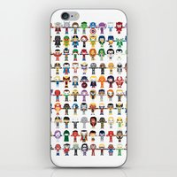 starfox iPhone & iPod Skins featuring THE ULTIMATE 'AVENGER'S' ROBOTIC COLLECTION by We Are Robotic