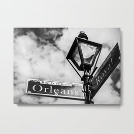 Orleans & Royal Metal Print