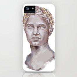 Lando Norris Statue Portrait iPhone Case