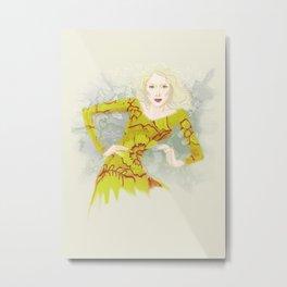 Batika Metal Print