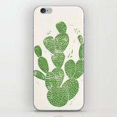 Linocut Cacti #1 iPhone & iPod Skin