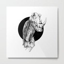 RHINOEAGLE Metal Print