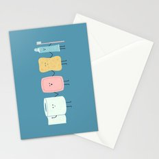 The Bathroom Gang Stationery Cards