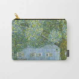 Klimt - Farmhouse in Upper Austria (new editing) Carry-All Pouch
