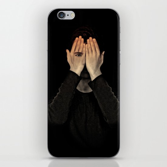 Eyes did not see, mind did not look iPhone & iPod Skin