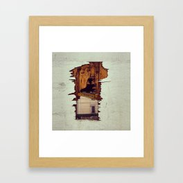 The other side Framed Art Print