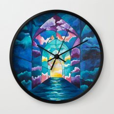 Chambers: To Know & Be Known Wall Clock